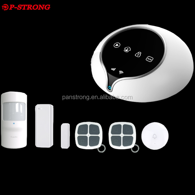 APP Control Intelligent GSM Wifi Wireless Gas Leak Detector Alarm For Home Security System