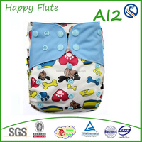 New! Happy Flute Washable Reusable Sleepy Cloth Diaper Hot Sale