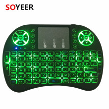 Soyeer Hot Sell 2.4g Wireless I8 plus Mini Keyboard 2.4G Keyboard for Google Andriod TV box