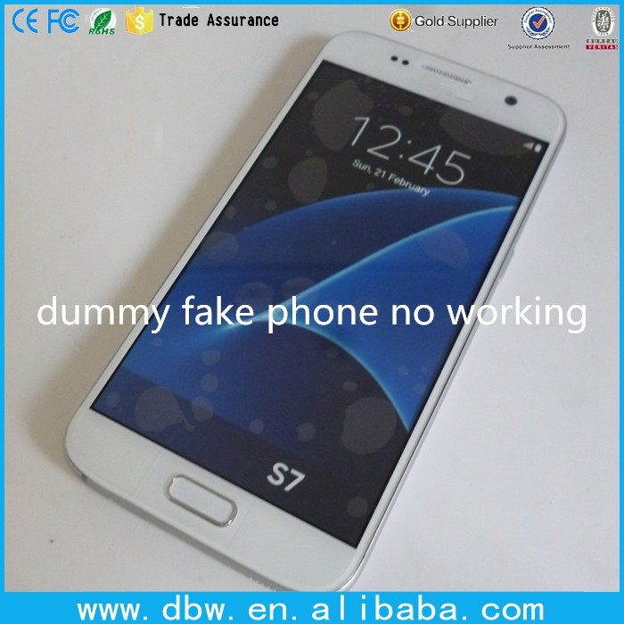 Fake phone model without working for Samsung galaxy S6 dummy display cell phones