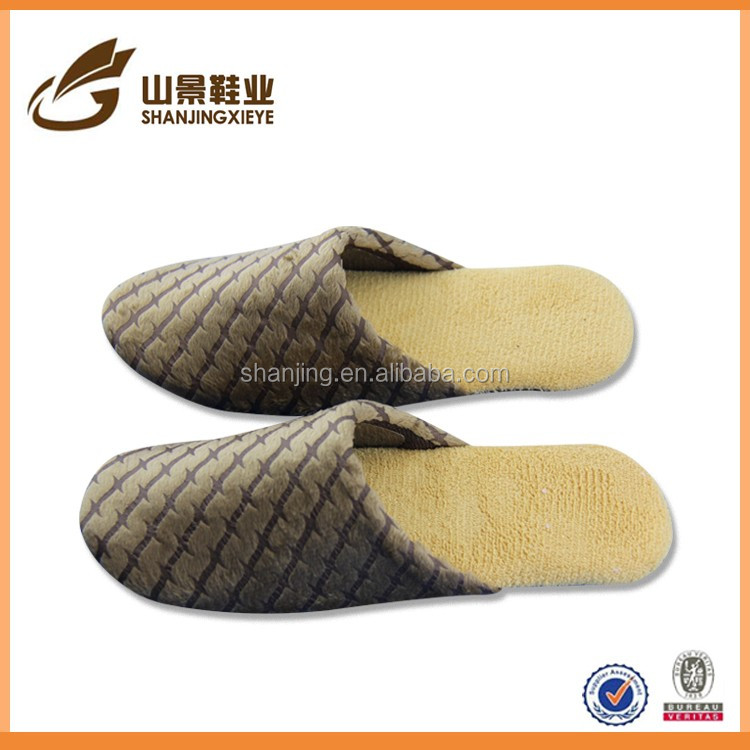 industrial safety high heel woman shoe wedge slipper