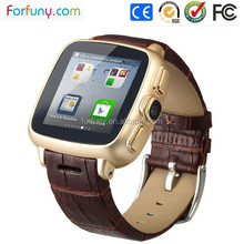Dual Core Waterproof Android4.2 SIM Card GPS WIFI Bluetooth 3G Smart Watch Phone