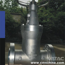 Vatac API 6D Carbon Steel Outside Stem And Yoke Gate Valve