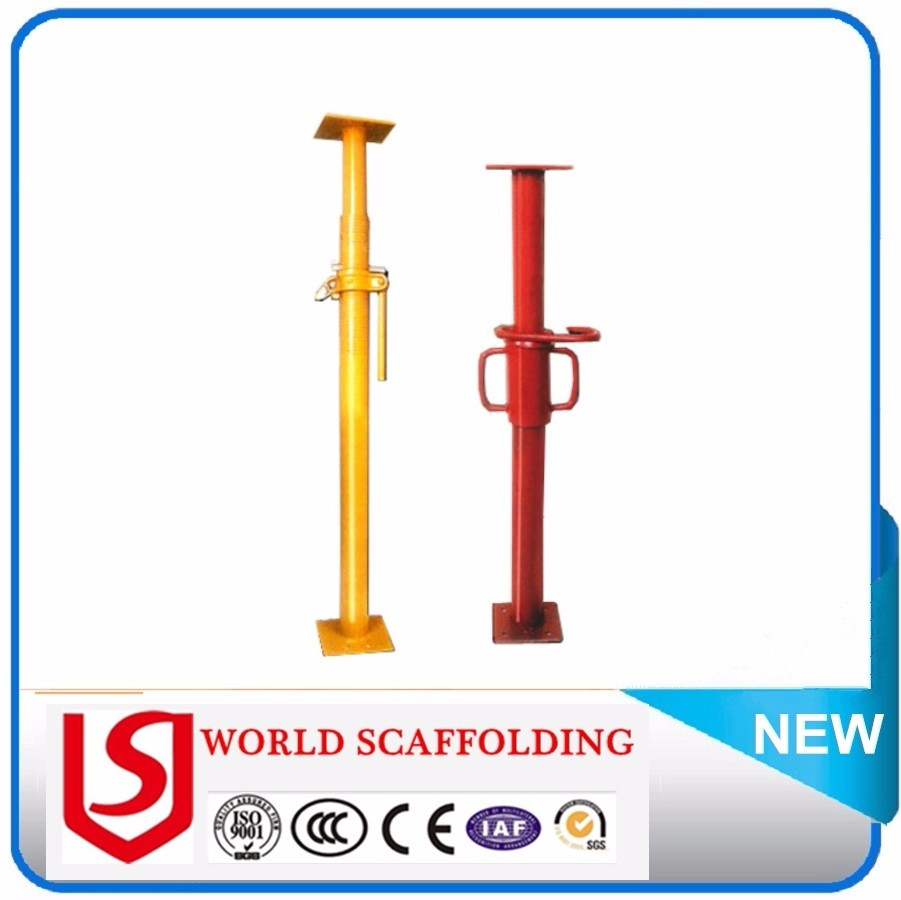 Shoring Posts Adjustable : Push and pull prop adjustable steel props shoring post