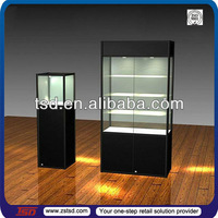 TSD-W006 Custom hot modern glass display cabinet and showcase for jewelry shop,boutique display cabinet