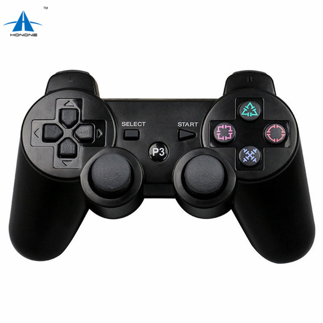 Wireless bluetooth game controller joystick gamepad joypad remote control for PlayStation 3 PS3