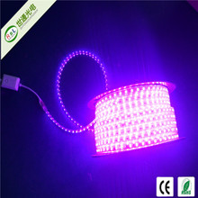 alibaba Unique design double line 120 leds 18-20lm/led waterproof flexible 110v 220v led strip smd5050 warm white