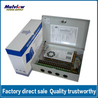 18ch 12V 25A CCTV Power Supply For Security Camera, CCTV system, access control system