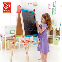 Hape funny baby amazing wholesales top quality small wooden easel