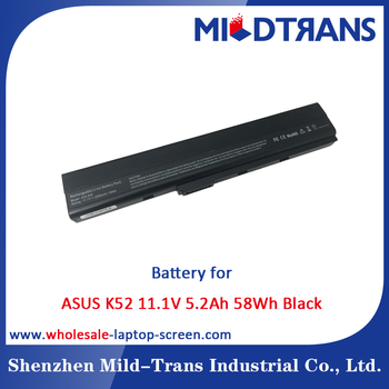 6 Cells 11.1V 5.2Ah 5200mAh 58Wh Laptop Battery for ASUS K42 K52