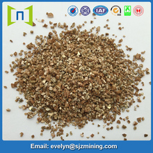 bulk gold expanded vermiculite for insulation