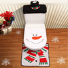 Alibaba hot selling!!!Christmas snowman toilet seat cover with high quality for decoration