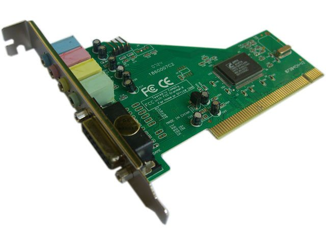 Hot 4 channel PCI Sound card Surround Audio Adapter for computer