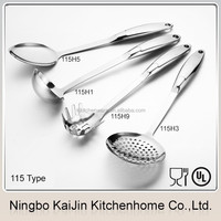 KAIJIN Kitchen different series 2015 new best on sale hot selling stainless steel kitchen tool set