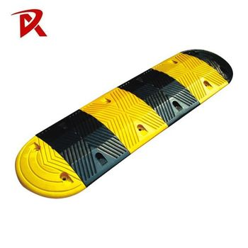 Black Yellow Portable with 15% Rubber Speed Humps