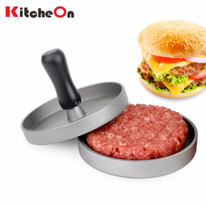 Amazon Hot Sale Non-Stick Aluminum Burger Press