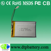 Lithium polymer battery pack 7.4v 3500mah tablet pc battery