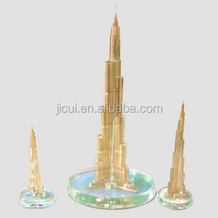 Crystal Burj Dubai Khalifa Tower Crystal craft