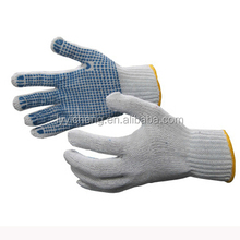 orange dot gloves pvc dotted gloves for industrial use