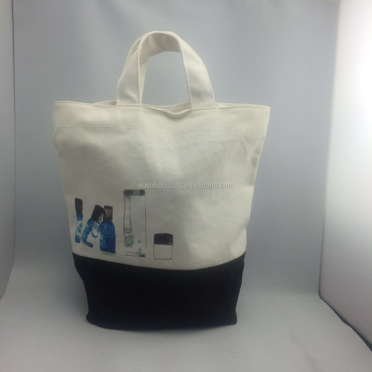 Good Quality Branded 12Oz Canvas Cotton Bag Printed