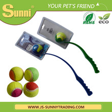 Sunny Pet Toys Different Colored 38cm PP Tennis Ball Launcher