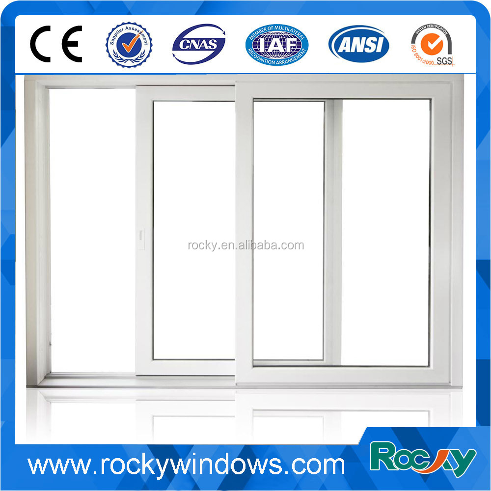 European Designs PVC Profile Aluminium Sliding Windows/ Spain Style Window and Door
