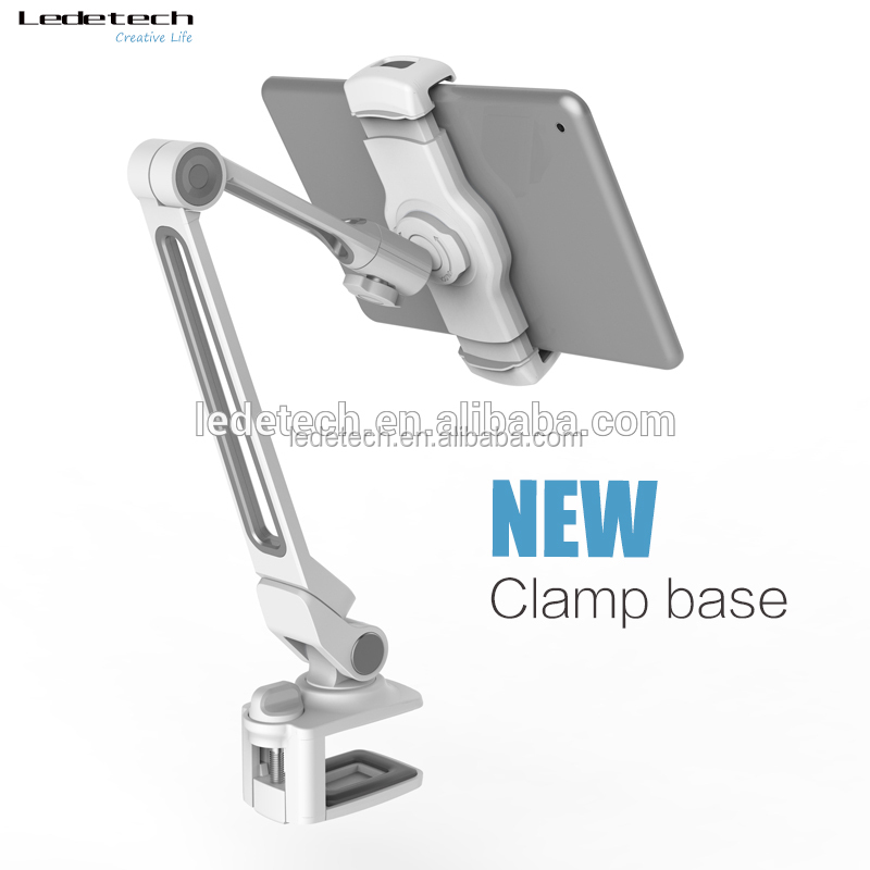promotion gift present adjustable clamp base car monitor gps laptop pc mobile smartphone cellphone android tablet pos stand