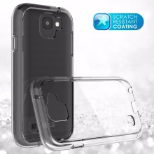 Scratch Resistant Clear Bumper Case for LG K3 2017 with Clear Back Cover for US Cellular K3 2017