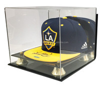 Deluxe Acrylic Wall Mount Cap Hat Display Case Holder