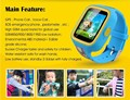Kids Phone Watch GPS Tracker LBS Wi-Fi Positioning Pedometer Walking GSM