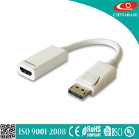 Factory Price super quality HDMI 4K DP 1.2 male to female cable