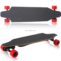 Off-road high speed motorized electric skateboard