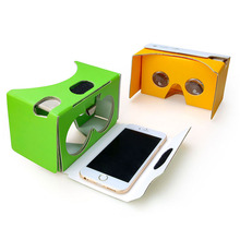 Foldable Custom VR Headset google cardboard v2