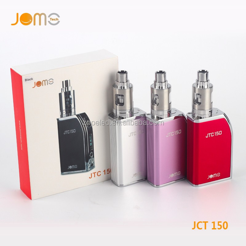 E cigarette vape starter kit E liquid Vape vaporizer JTC150 box mod kit vaping mod