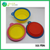 New Popular food grade anti-skid folding dog bowls