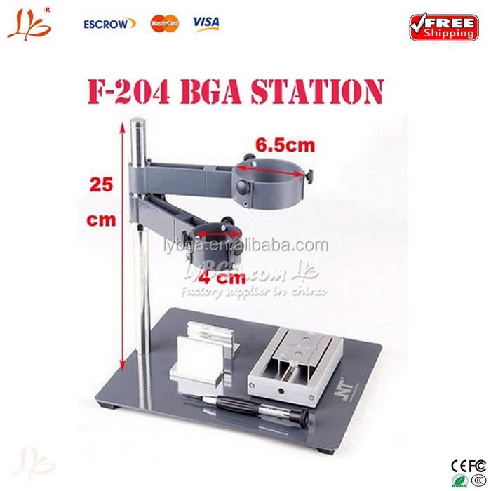 Free shipping NT F-204 Mobile Phone Repair Platform Hot Air Gun with BGA Fixture