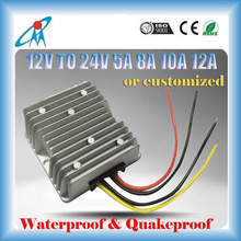 5A 8A 10A 12A power converter 12V to 24V DC/DC Converters Type and Single Output Type 24v dc converter