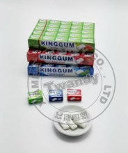 King Gum three flavor Crispy chewing gum