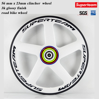 superteam 5 spoke carbon road bike wheels/ custom paint 5 spoke wheel road bike / front wheel for road bike