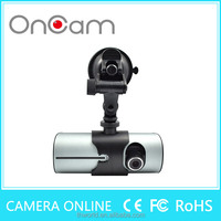 SALE r300 car dvr dash cam X3000 720P car dvr dual dash cam GPS tracker logger