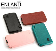 Flip Leather case for LG Nexus 4
