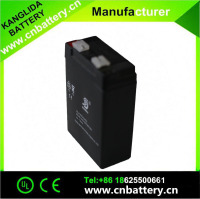 High quality rechargeable lead acid storage battery 4v4ah