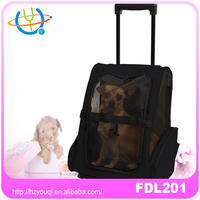 Backpack on wheels Pet Carrier trolley carrier