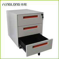 Office drawer storage mobile filing cabinet movable cabinet