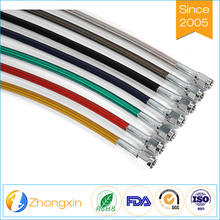 Factory Price Stainless Steel Braided Tube 304 Ss Ptfe Cheap Flaxible Brake Hose Assembly