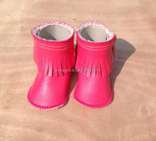 10 Colors Sweety Fringe Baby Moccasins Girls Princess Baby Boots Infant Shoes Prewalker Winter Newborn Baby Keep Warm Footwear