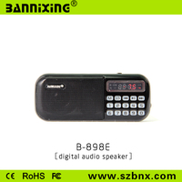 gadget electronic B-898E TF Card usb mini fm radio