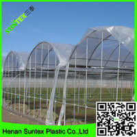 2015 Best selling high quality woven clear plastic greenhouse film for tomato planting