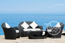 GW3013SET Outdoor patio furniture resin woven wicker material sofa set