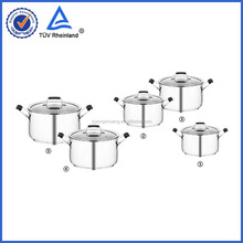 korkmaz cookware with 4mm glass lids for kitchen